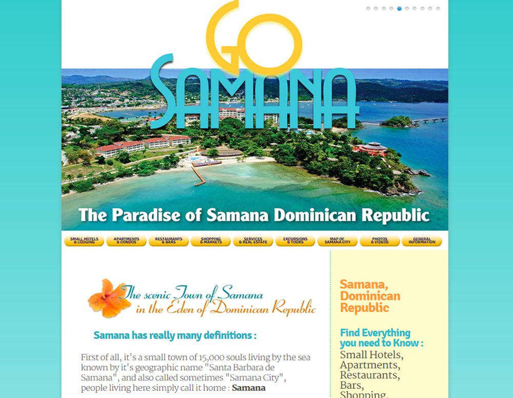 Web Design and Best SEO in Samana Dominican Republic.